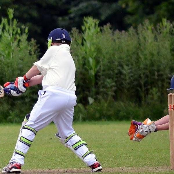 Action at Aldershot CC
